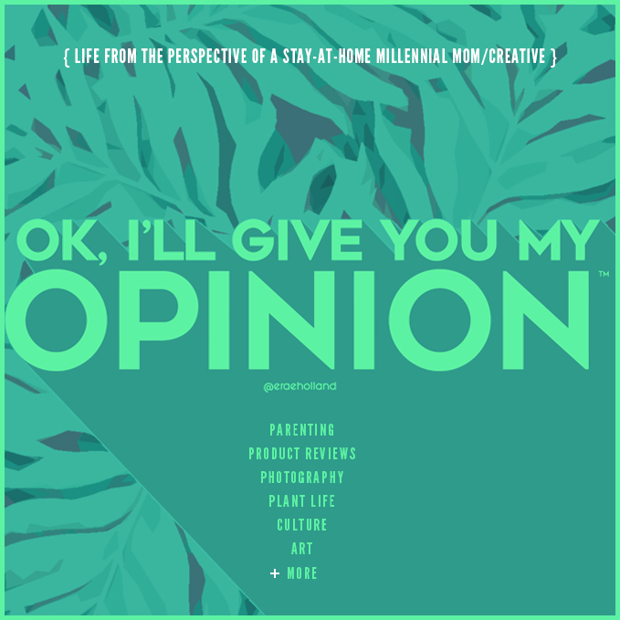 OK, I'll Give You My Opinion!