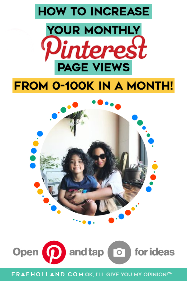 How I Grew My Pinterest Monthly Viewers From 3k to Over 100k in a Month! #pinteresthacks
