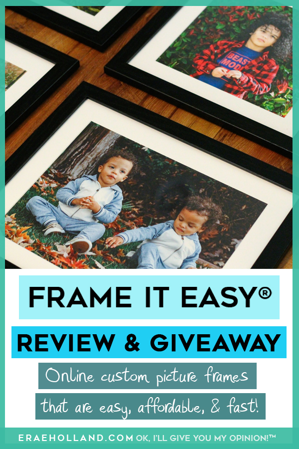 Frame it Easy #giveaway and #review