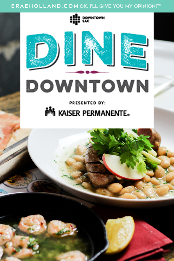 Dine Downtown Sacramento #restaurantweek