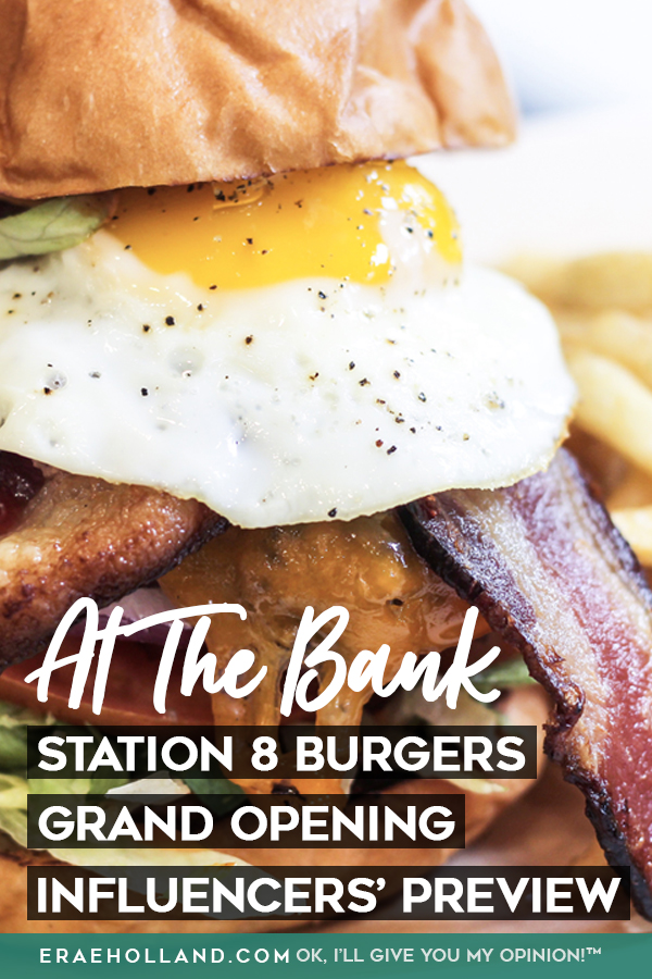 Station 8 Burgers Grand Opening - Influencers' Preview at The Bank, Sacramento