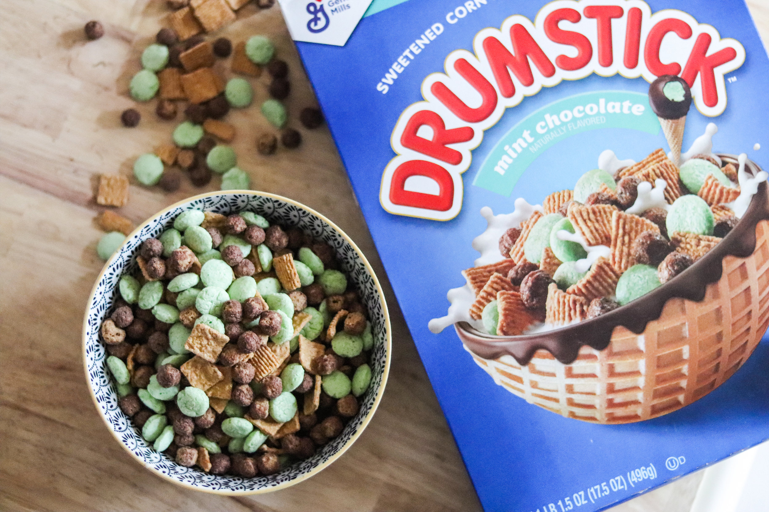 NEW Drumstick cereal