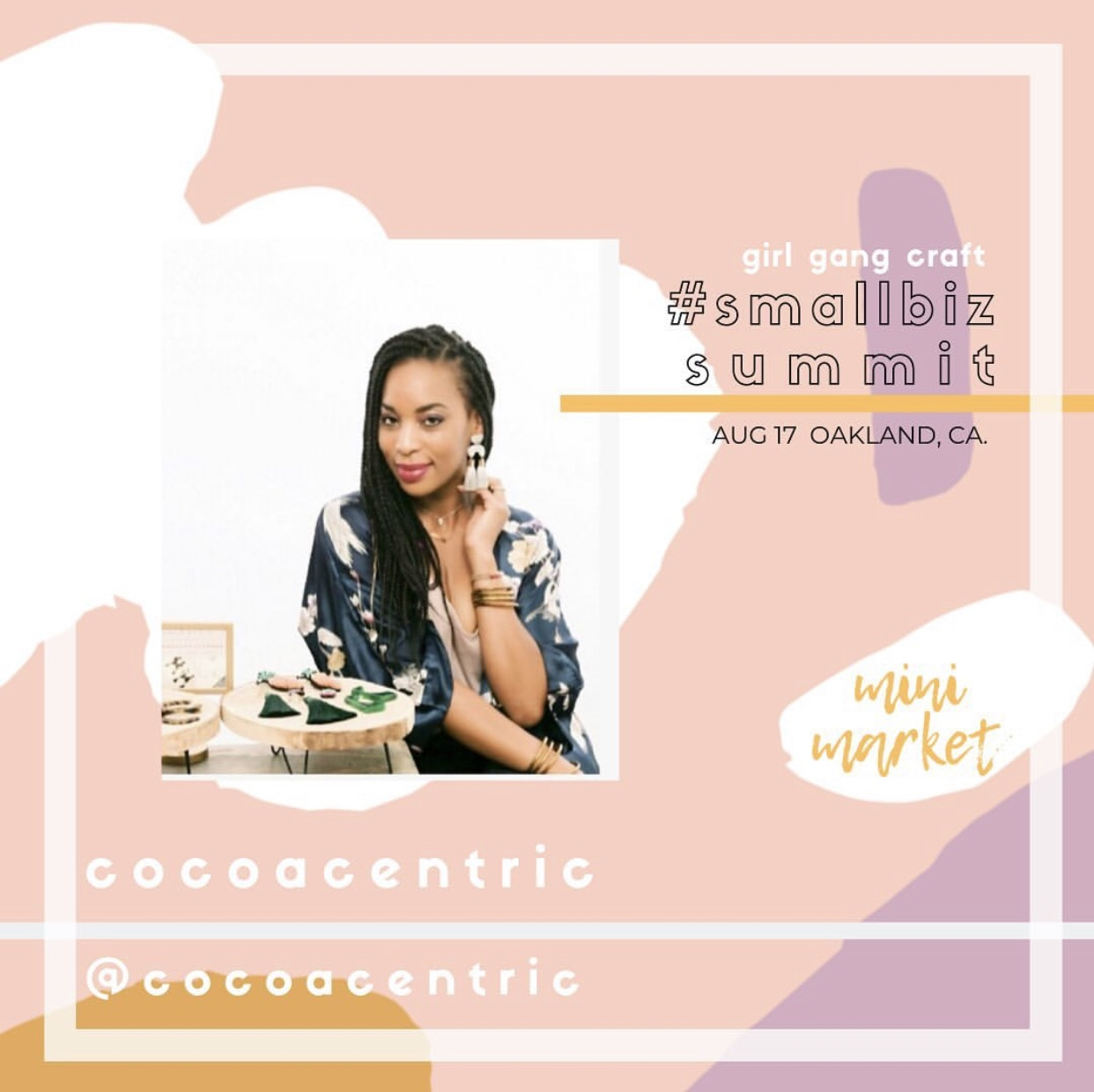 LATOYA Mc INNIS: - DESIGNER + FOUNDER@cocoacentric