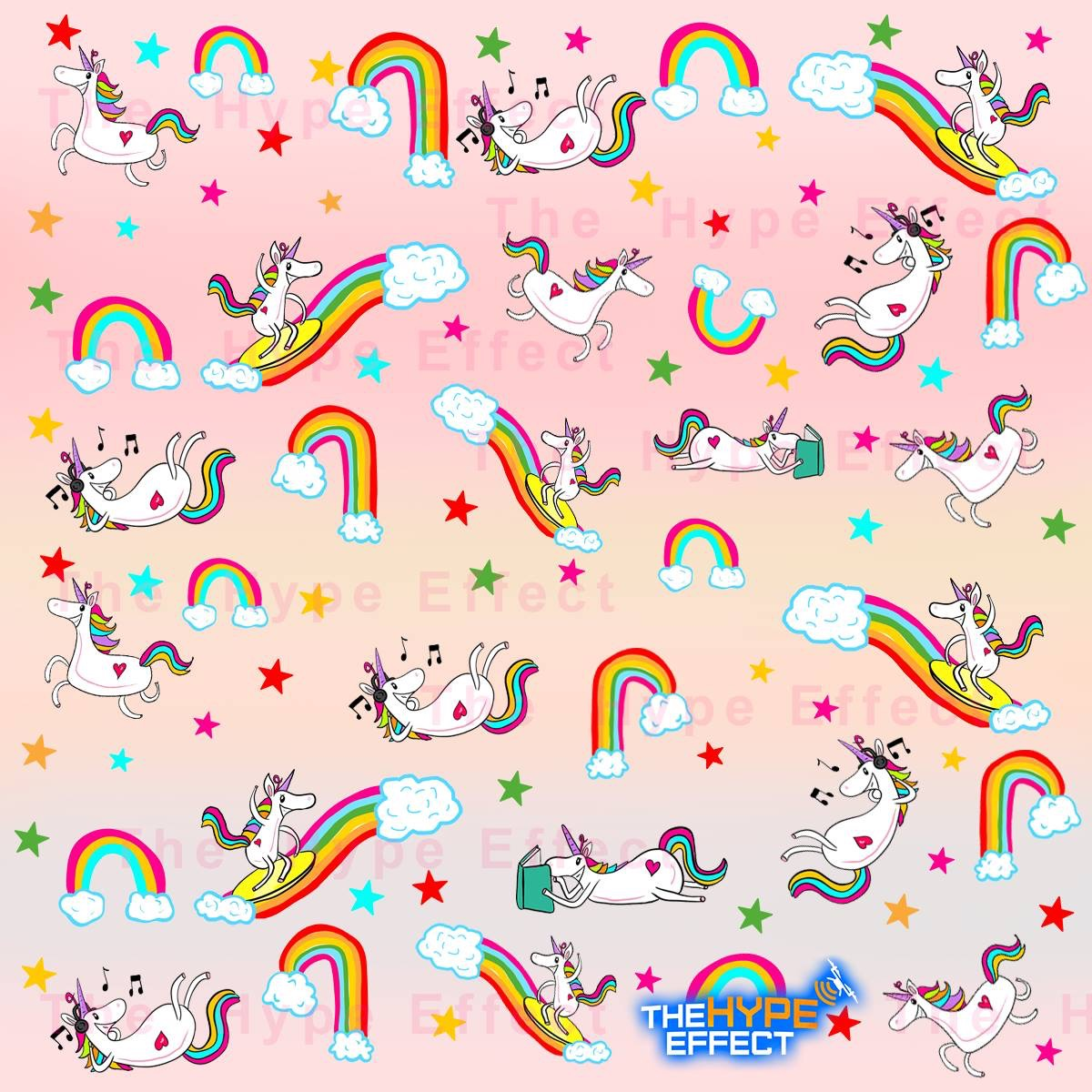 """Fabulous Rainbows and Unicorns - Norah Edition"""