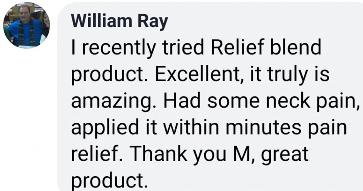 Testimony - for Relief Blend