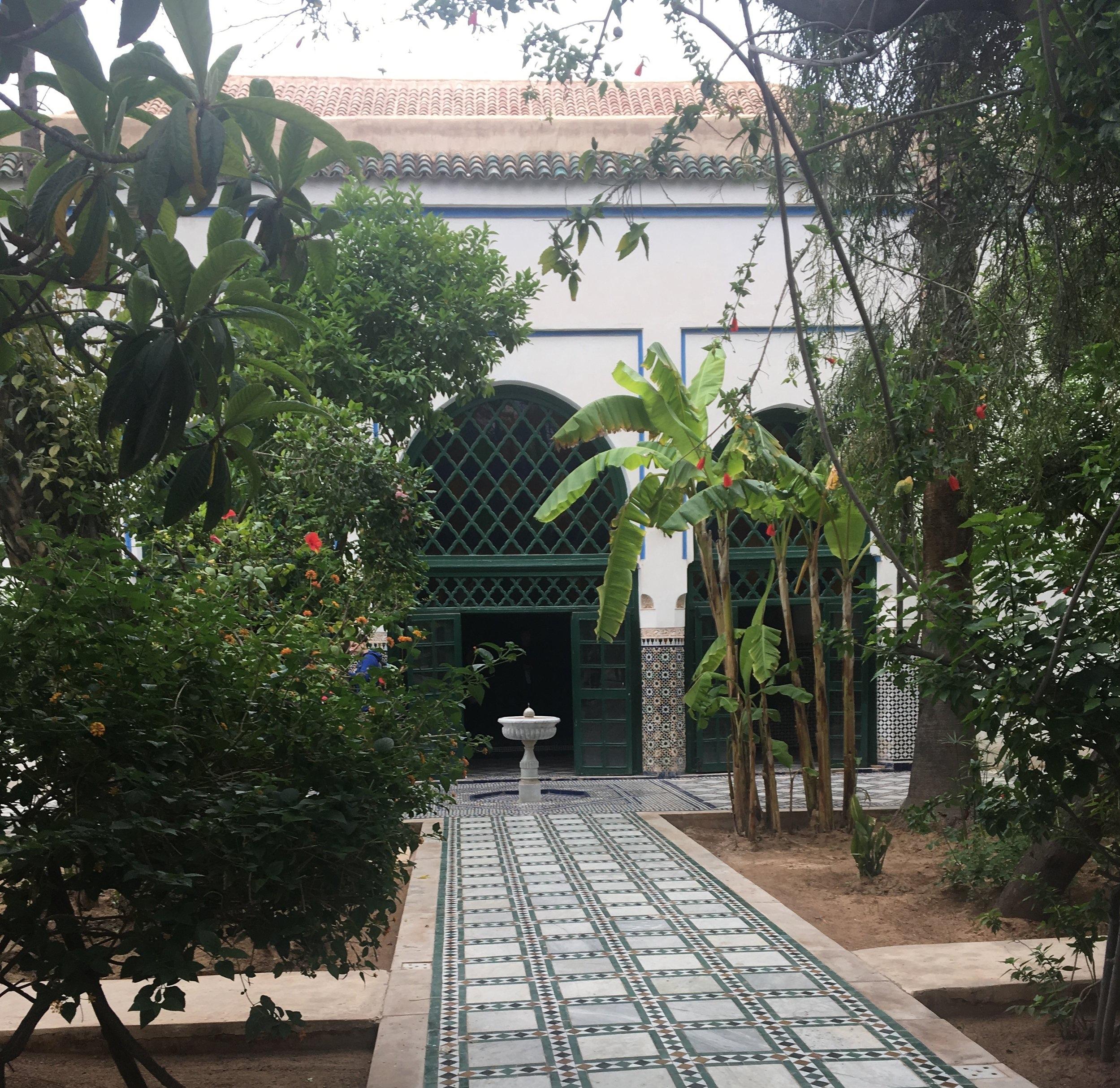 Palais Bahai-Oujda in Marrakesh, Morocco.