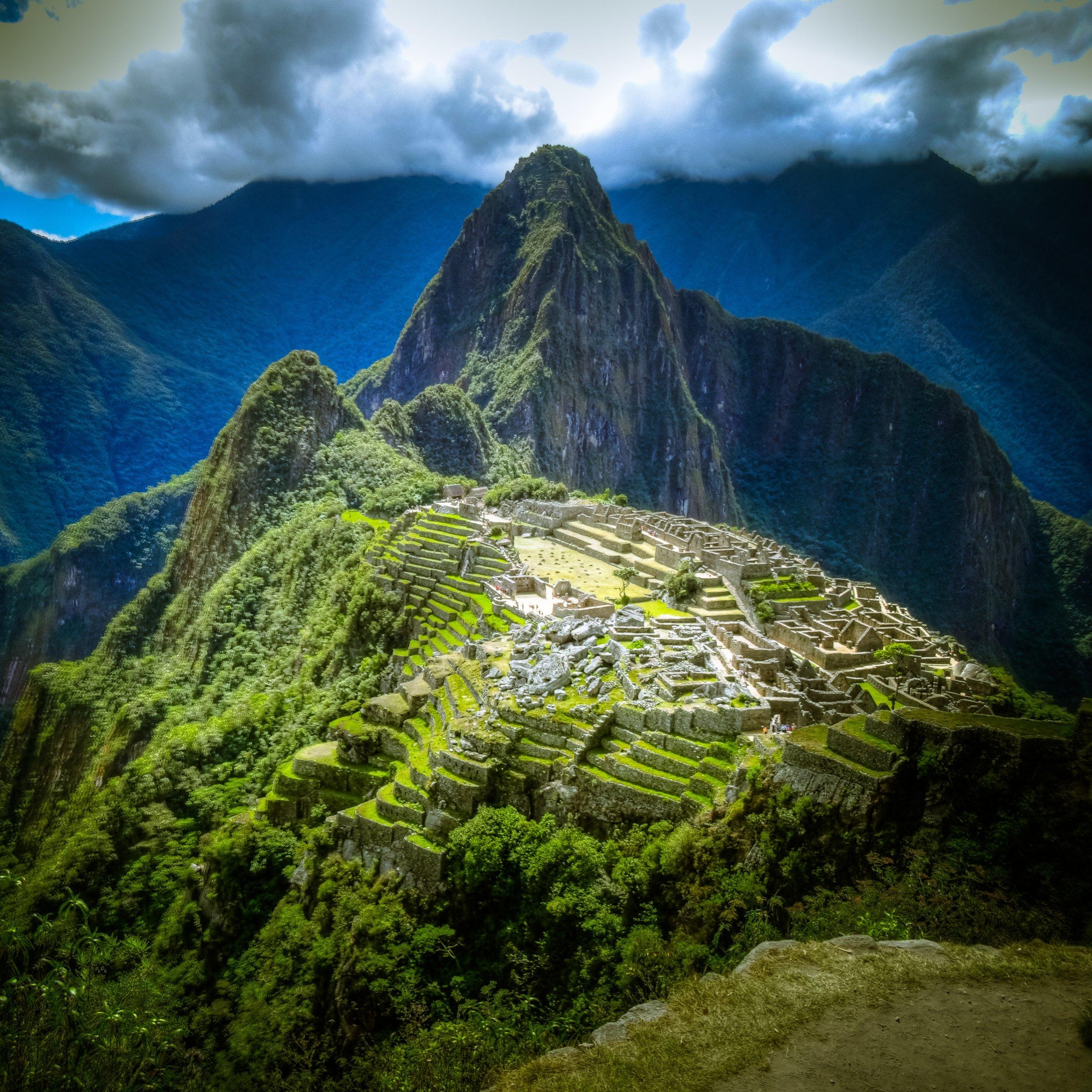 Machu Pichu. Photo from Unsplash, Babak Fackmanzadeh.