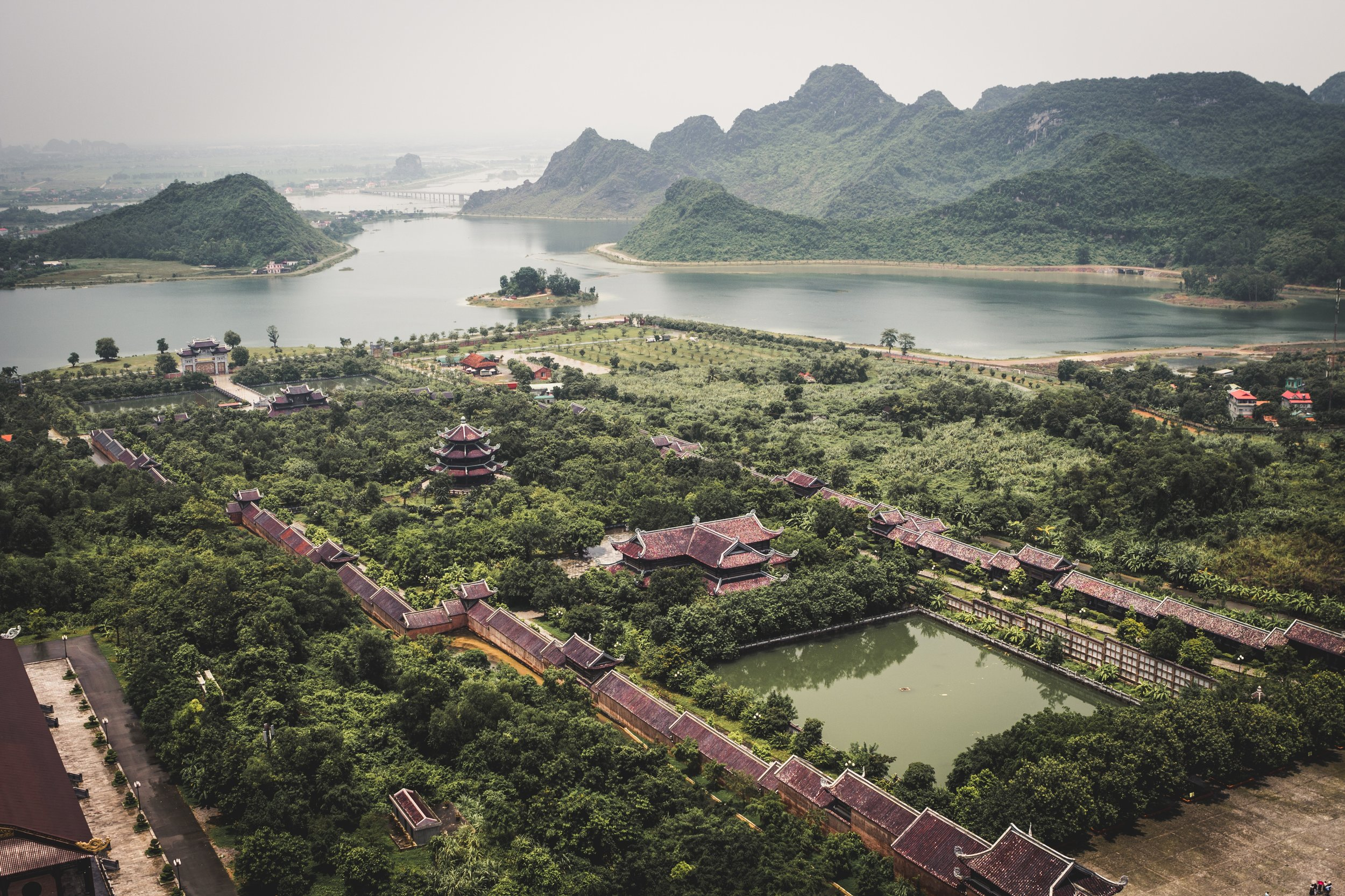 From Unsplash, by Jonathan Ouimet. This is Ninh Bình, Vietnam.