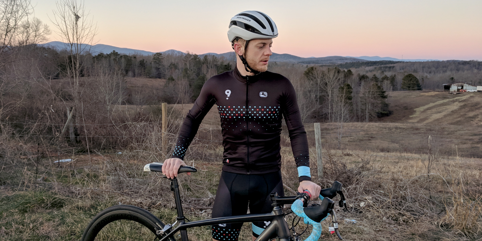 Expert cyclist and general manager for multiple Atlanta Cycling shops in Atlanta during a ride-along.