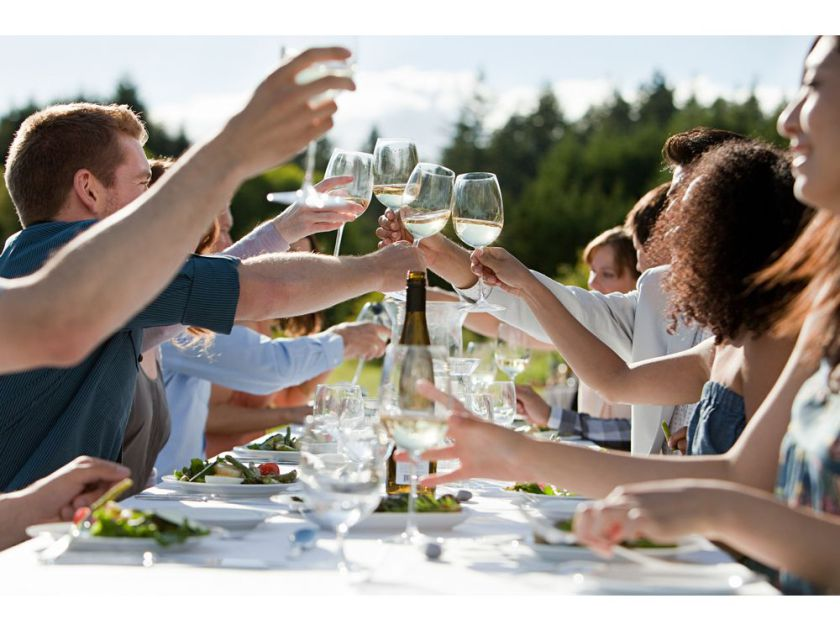 The Wine Gardens At Tawse  End the Day in Tawse beautiful Wine Garden while enjoying a charcuterie spread and a glass of your favourite wine. You are truly living your best life.