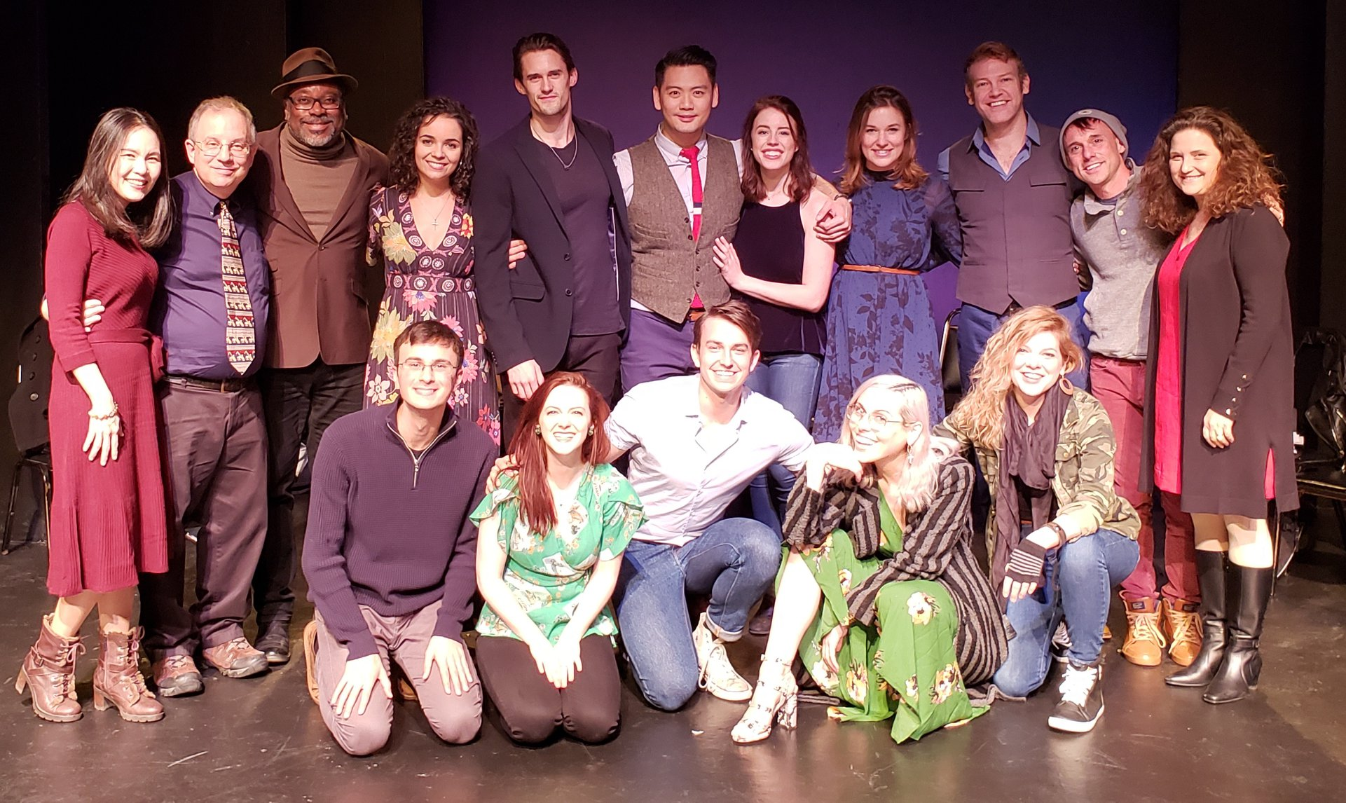 The Cast & Team of BETTER THAN DREAMING