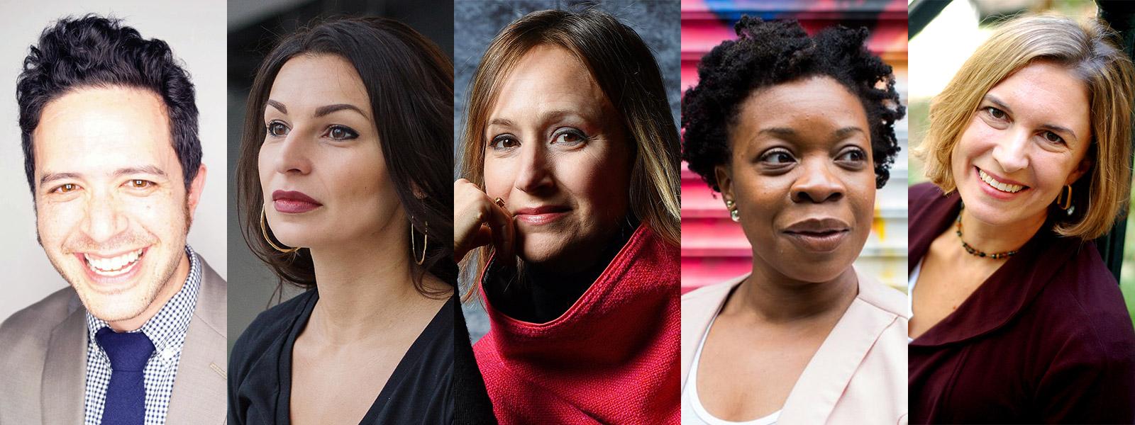Playwrights: Adam Gwon, Martyna Majok, Heather Raffo, Mfoniso Udofia, Karen Zacarías  Directed by Elena Araoz