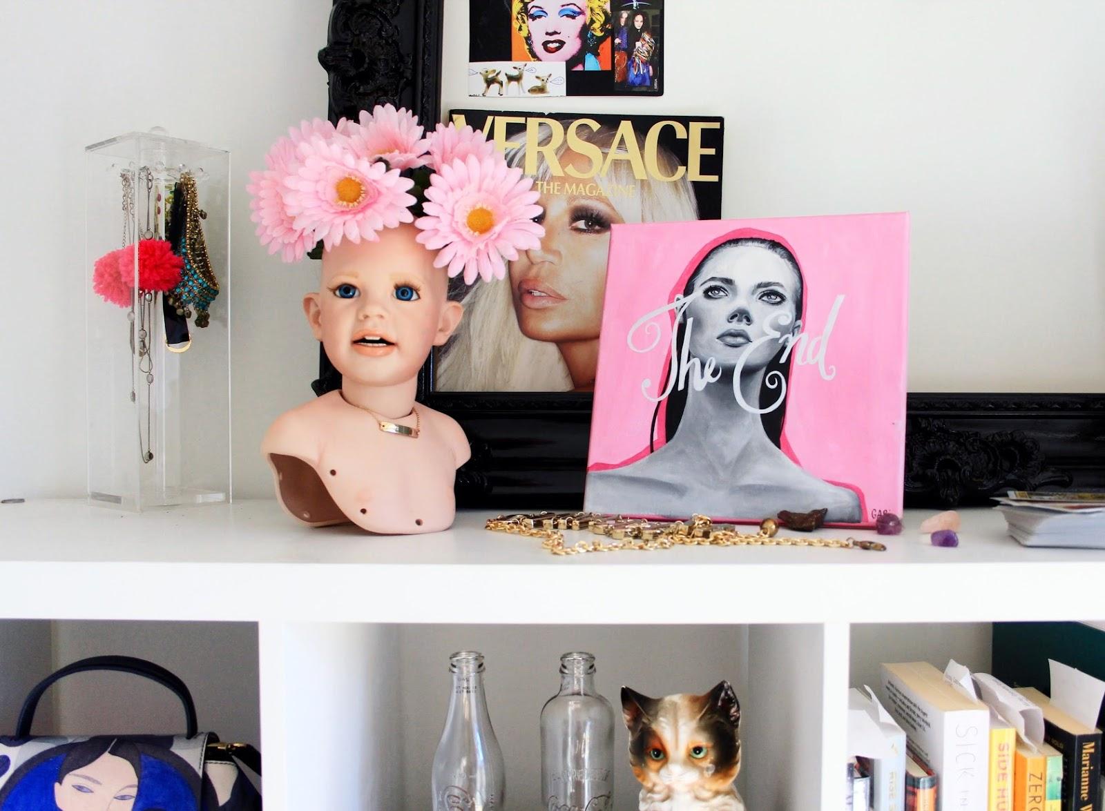 New Home Gabriella Rosie Art Doll Head Painting.jpg