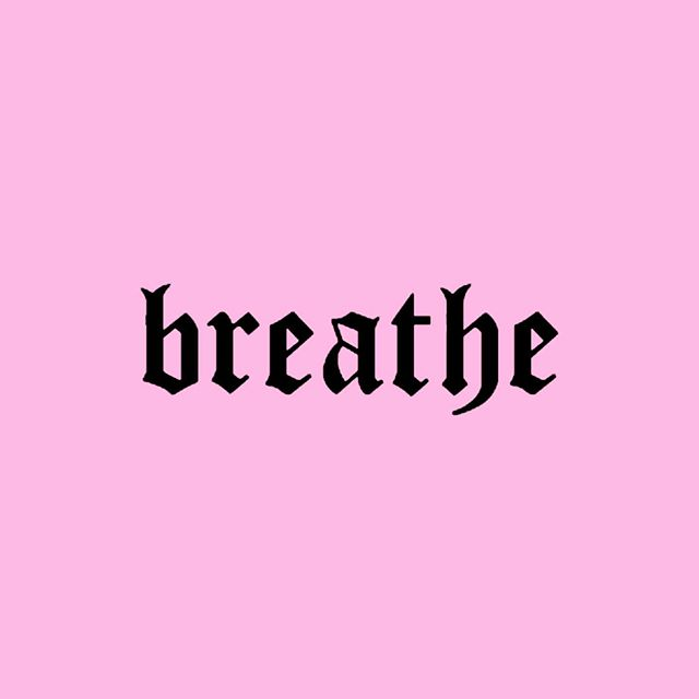 Babycakes, stop scrolling and take five deep breaths ⚡️ INHALE. EXHALE. 💗 Promise it'll make you feel real good!! 💋