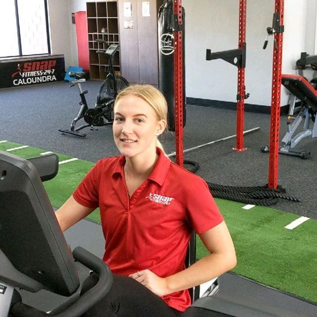 Alex @snapfitnesscaloundra is pretty stoked the resistance is working on the recumbent bike again!  #gymfix_sunshinecoast #keepsyourunning #sunnycoastlife #sunshinecoasthealthandfitness #caloundra #snapfitness