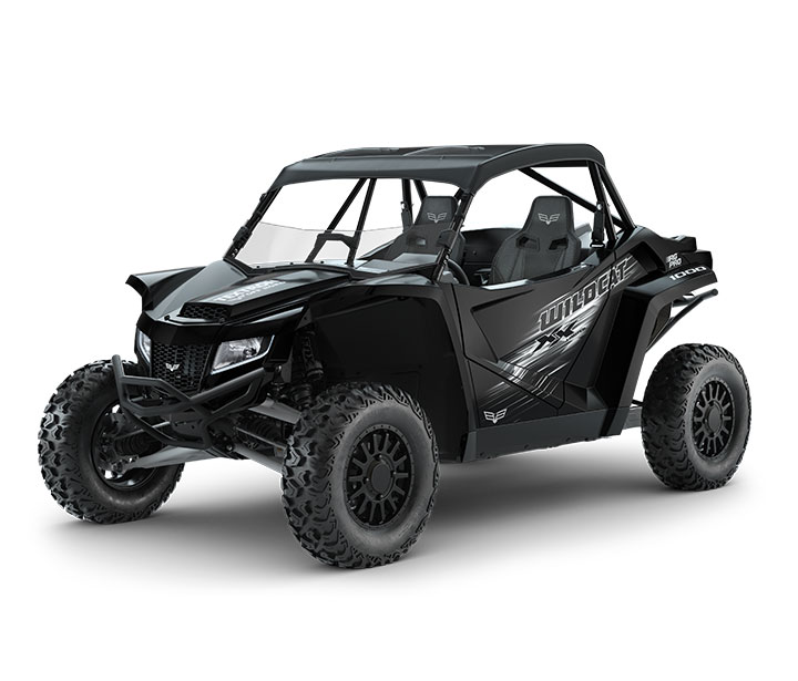WILDCAT XX LTD / 2-PASSENGER ($21,999)   18 Inches of Front and Rear Travel  >>  Unequal Length Front A-Arms  >>  Rear Trailing Arm  >>  Premium FOX 2.5 PODIUM QS3 Shocks with Bottom-Out Control  >>  130HP with a 998cc Naturally Aspirated EFI Engine  >>  2WD/4WD with 4WD Lock  >>  14-inch Ground Clearance  >>  Largest-In-Class Cab  >>  Half Windshield  >>  SV Bluetooth Audio System  >>  Deluxe Bimini Shade Top  >>  Front Bumper  >>  Rear Bumper   WATCH THE VIDEO