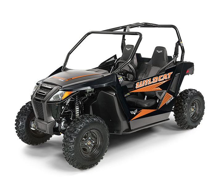 WILDCAT TRAIL / 2-PASSENGER ($10,999)   50-inch Width for Class I Trail Access  >>  700cc Twin-Cylinder, Closed-Loop EFI Engine  >>  Infinitely Adjustable Steering  >>  FOX® Shock Double A-Arm Suspension    WATCH THE VIDEO