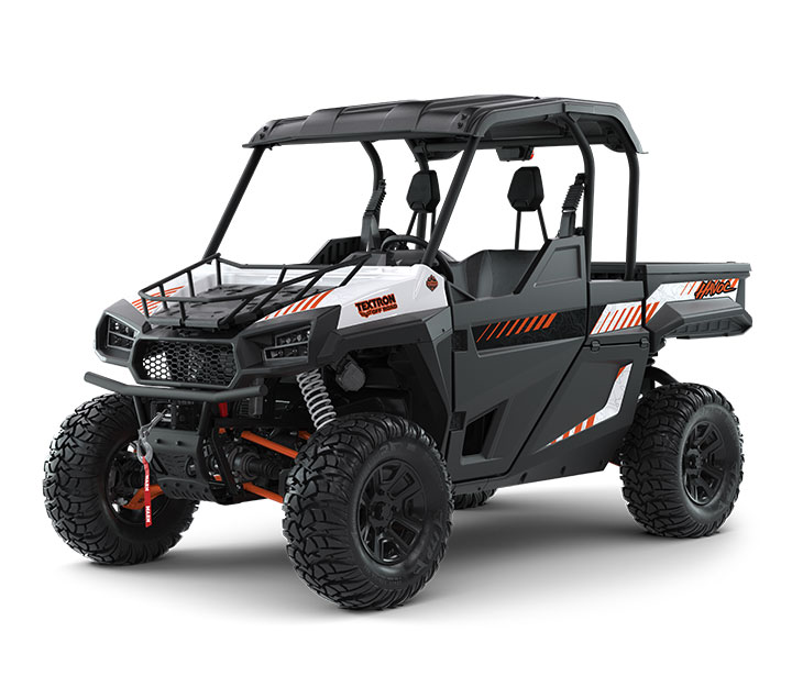 HAVOC BACKCOUNTRY EDITION / 2-PASSENGER ($17,799)   Precision-Tuned 100HP EFI Engine  >>  Class-Leading 2,000-lb Towing Capacity  >>  Class-Leading 13-inch Ground Clearance  >>  67 lb-ft Torque  >  Standard Brush Guard and 4,500-lb WARN Winch  >>  Class-Leading 24 cu-ft of Storage with Extended Cab  >>  ITP Ultracross Tires and Aluminum Wheels  >>  Premium Seats > Standard Top  >>  Hood Rack    WATCH THE VIDEO    or    TAKE A VIRTUAL TEST DRIVE
