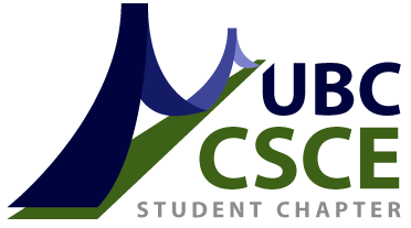 CSCE - The UBC CSCE Student Chapter aims to promote professional development for Civil Engineering undergraduate students.