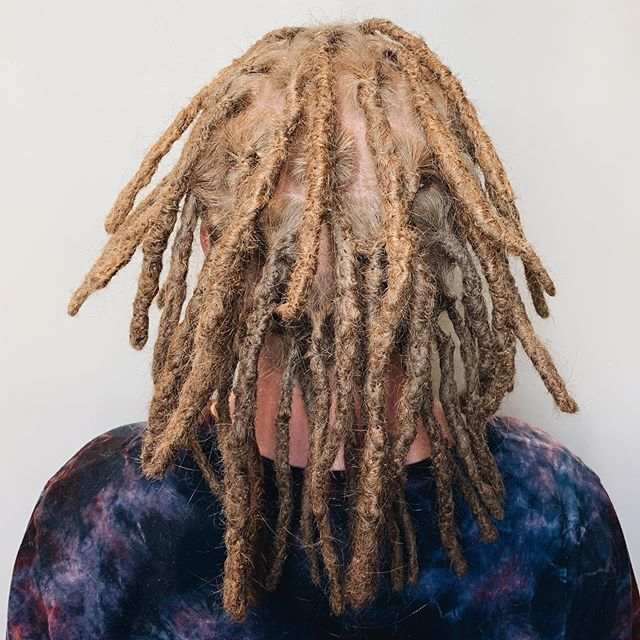 I've been so busy lately I haven't posted much - sorry! Here's Mark's fresh locs from last week. I'm excited to see these relax and mature!   #dreadlocks #dreadlockstyle #siouxfallsdreadlocks #southdakota #southdakotadreadlocks #dreadstagram #girlswithdreads #guyswithdreads #dreadmaintenance #dreadlockmaintenance