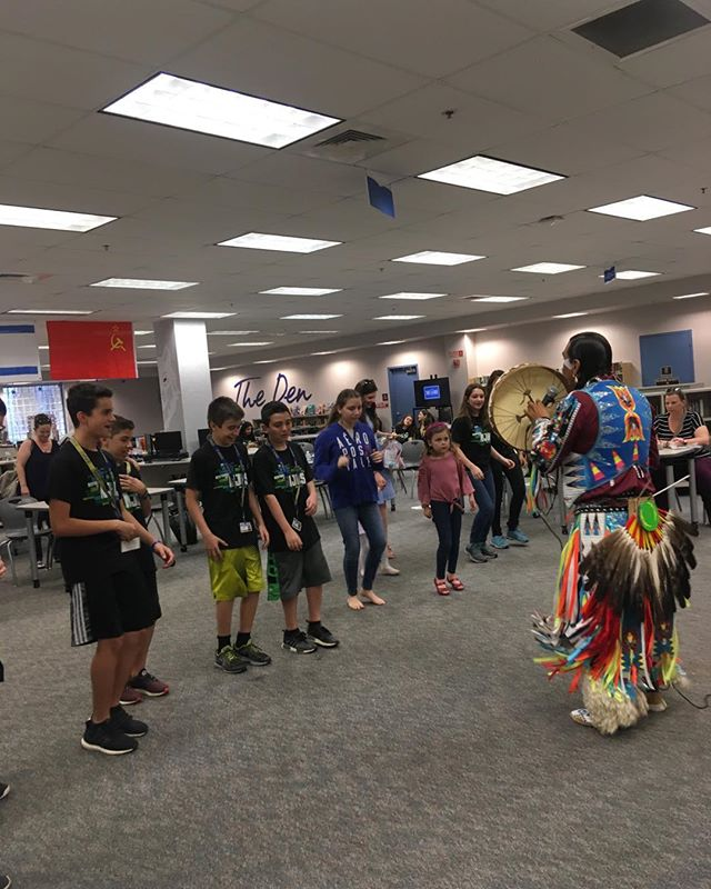 Healing dance with students  in Parkland Florida