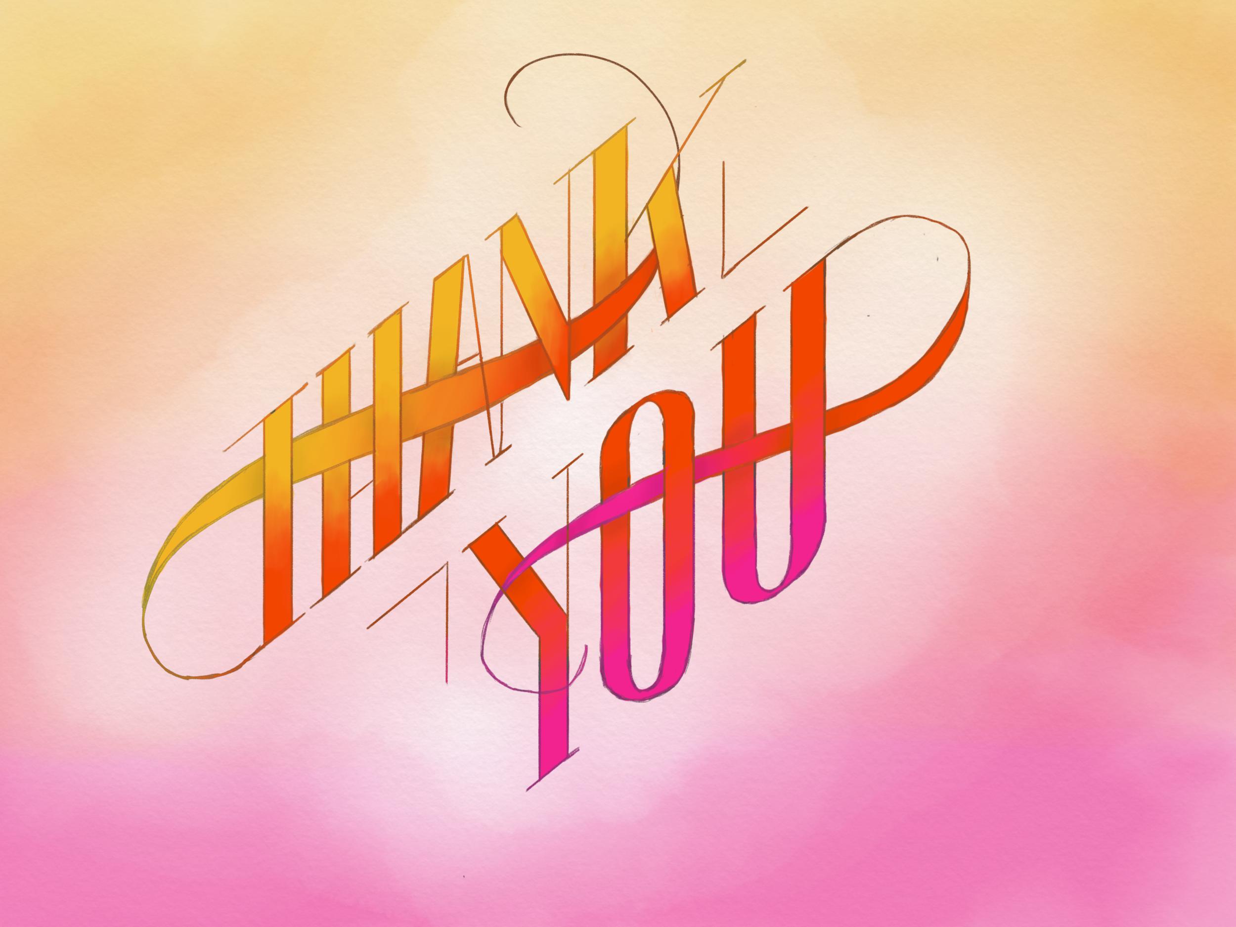 Thanks you - Type