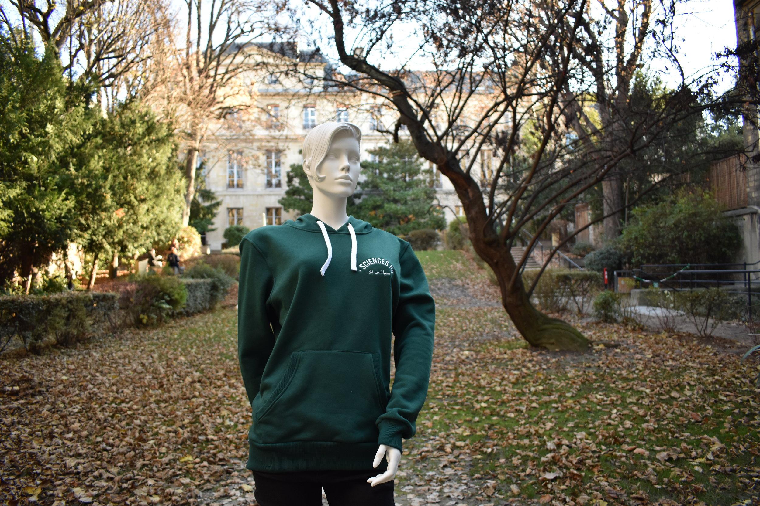 Le Hoodie vert, en arabe