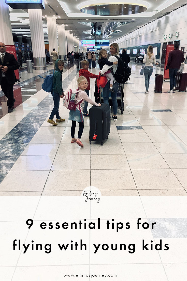 9 essential tips for flying with small kids | Emilia's Journey