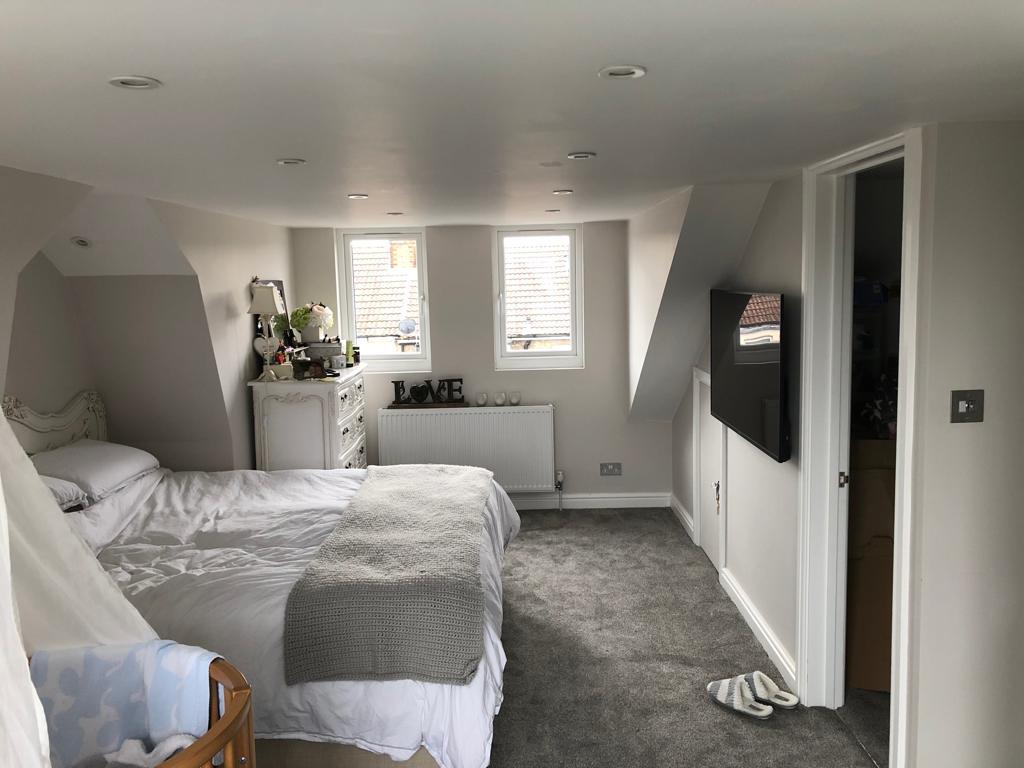 Loft Conversion Bedroom Dormer Juliet Balcony