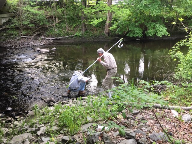 Monitoring  water quality in Lancaster, Mass.