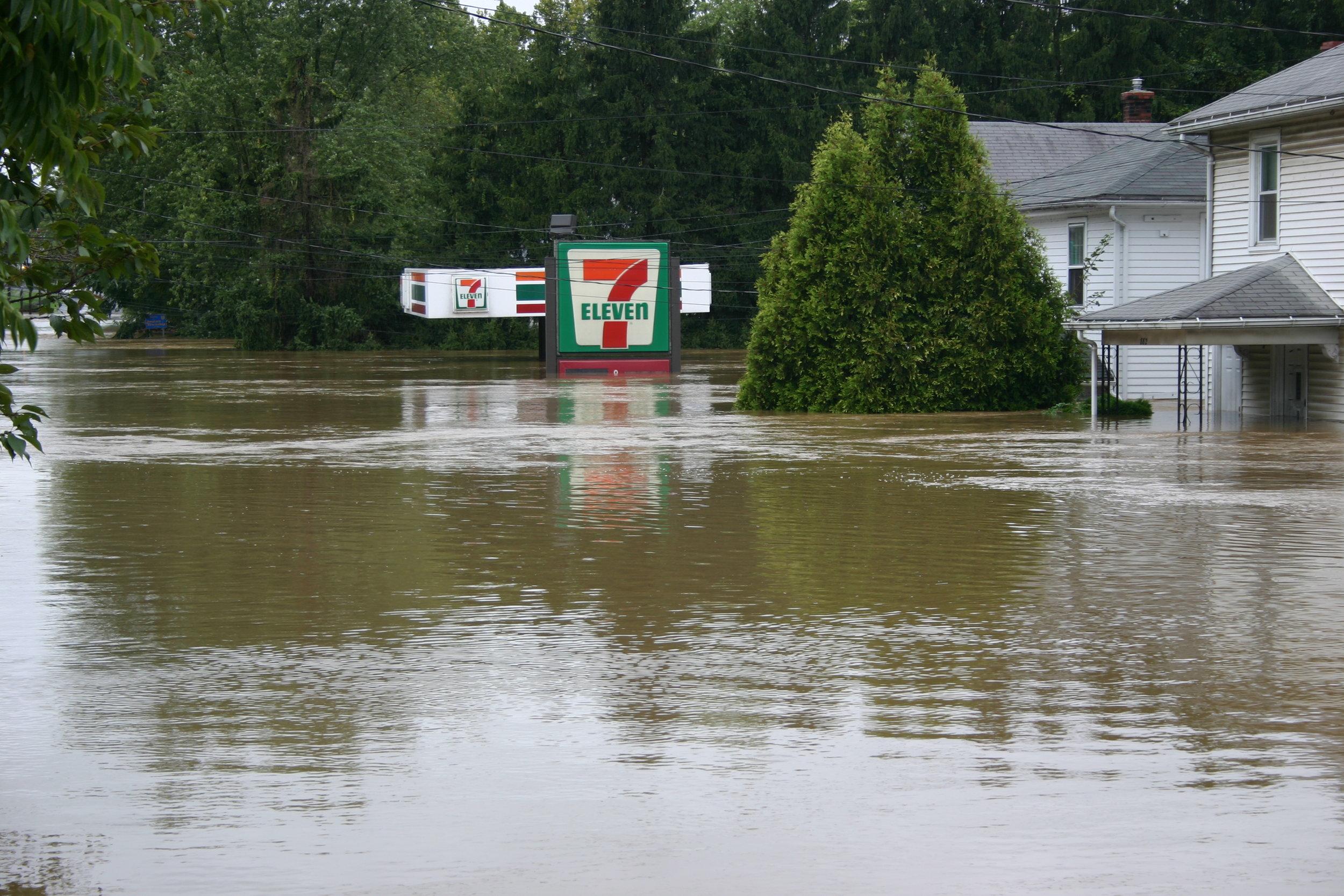 Floods in Hummelstown, Pa. (Jim McConkey)