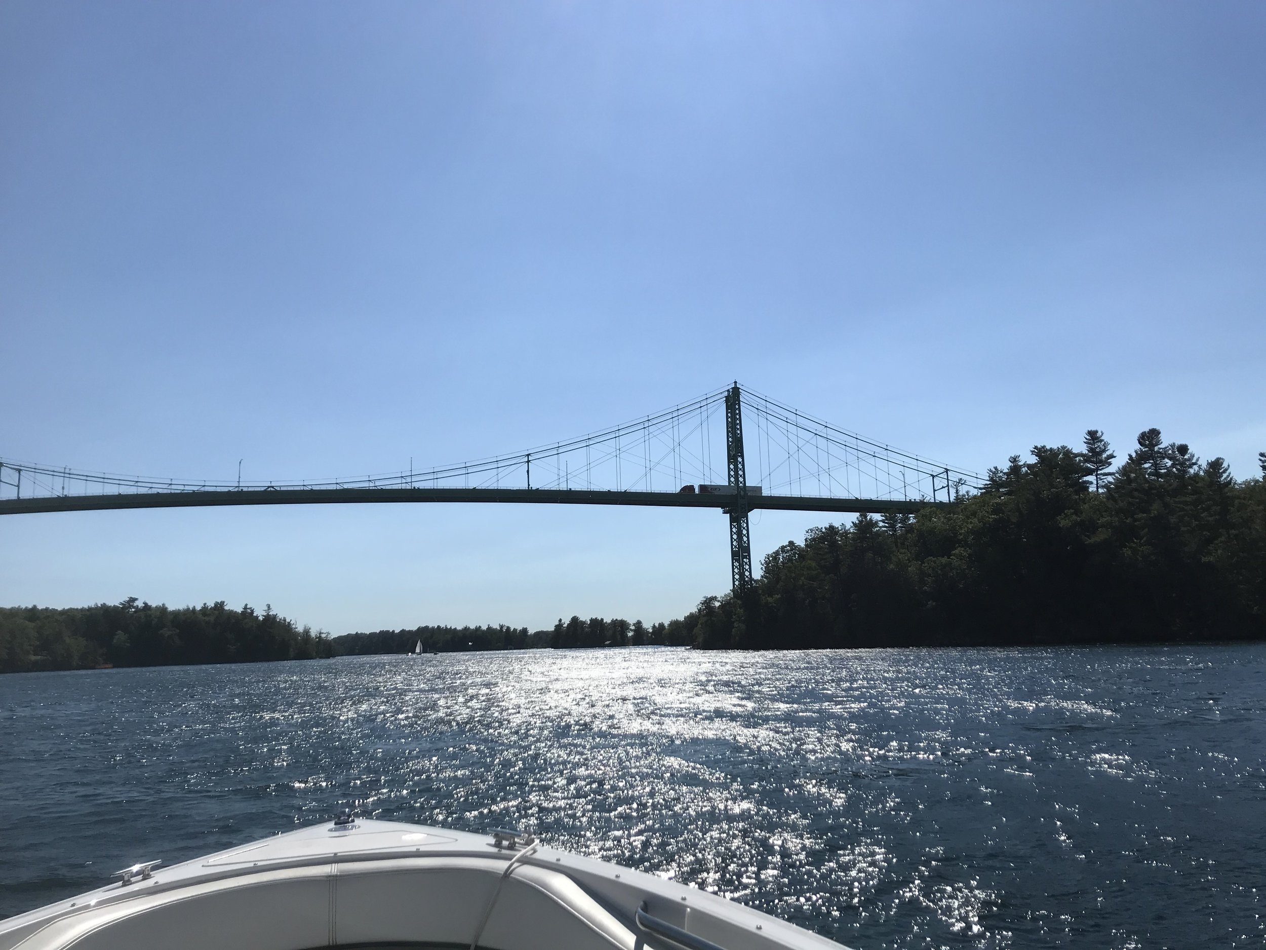 St. Lawrence Seaway between the US and Canada (Gary Goodwin
