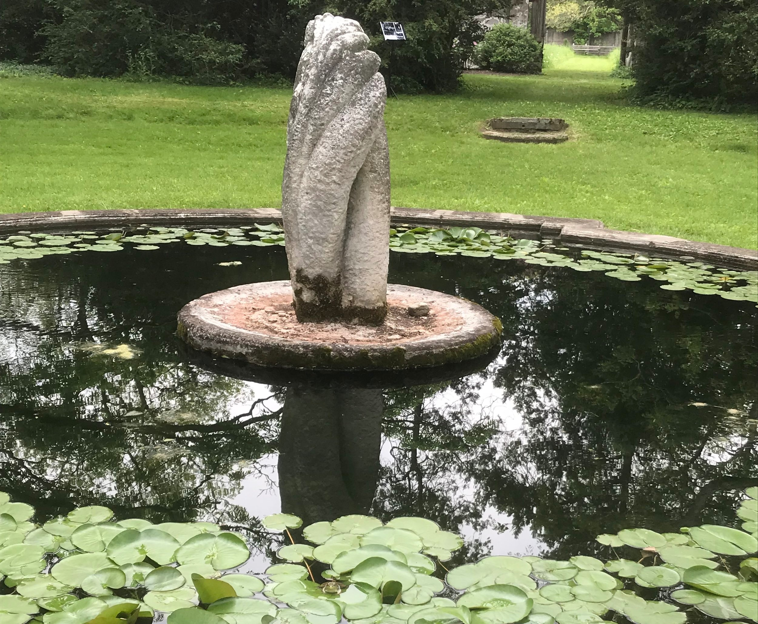 Reflective pool, Western New York (Gary Goodwin)