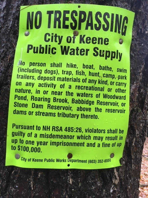 Keene watershed sign.JPG