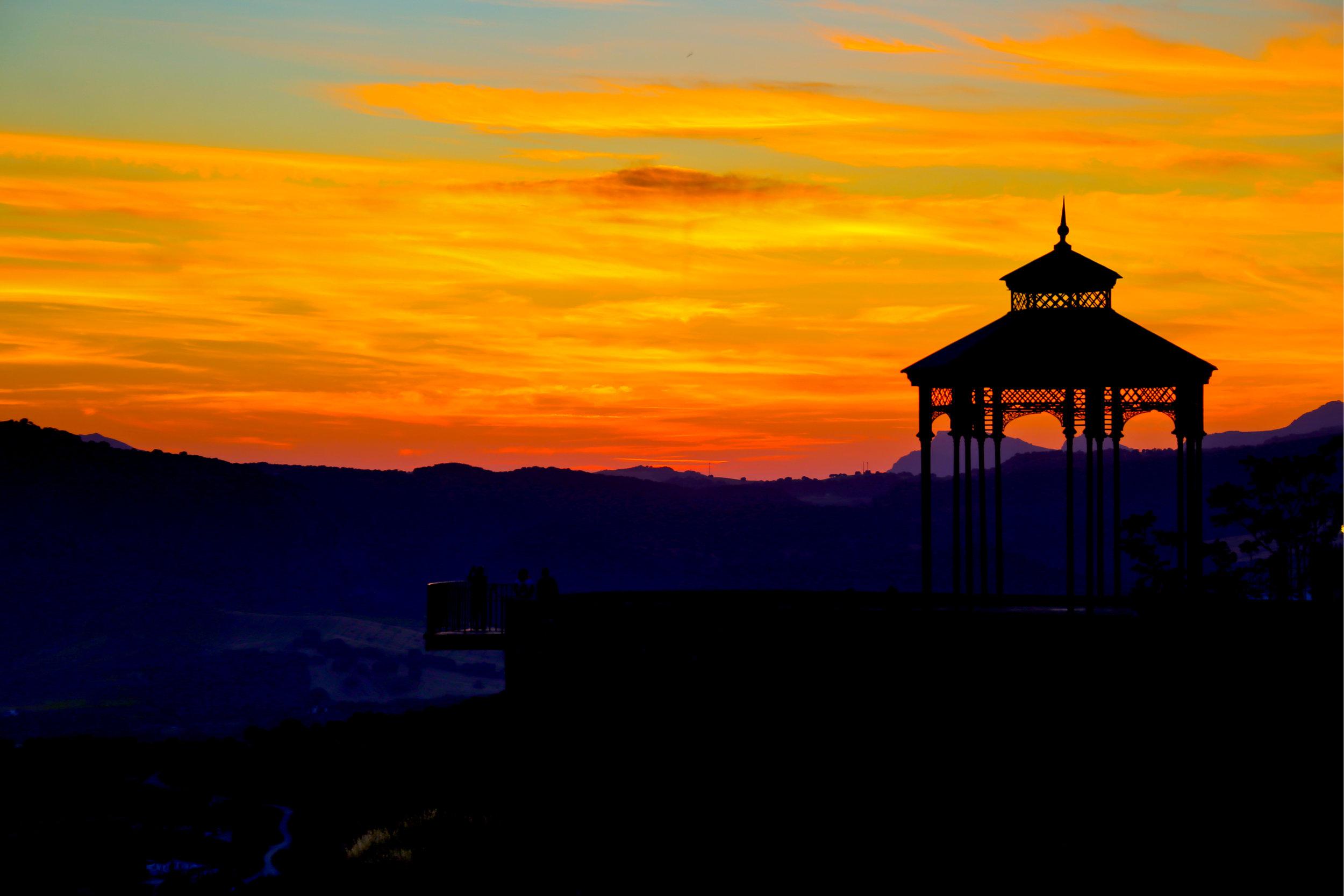 Sunset at the Mirador