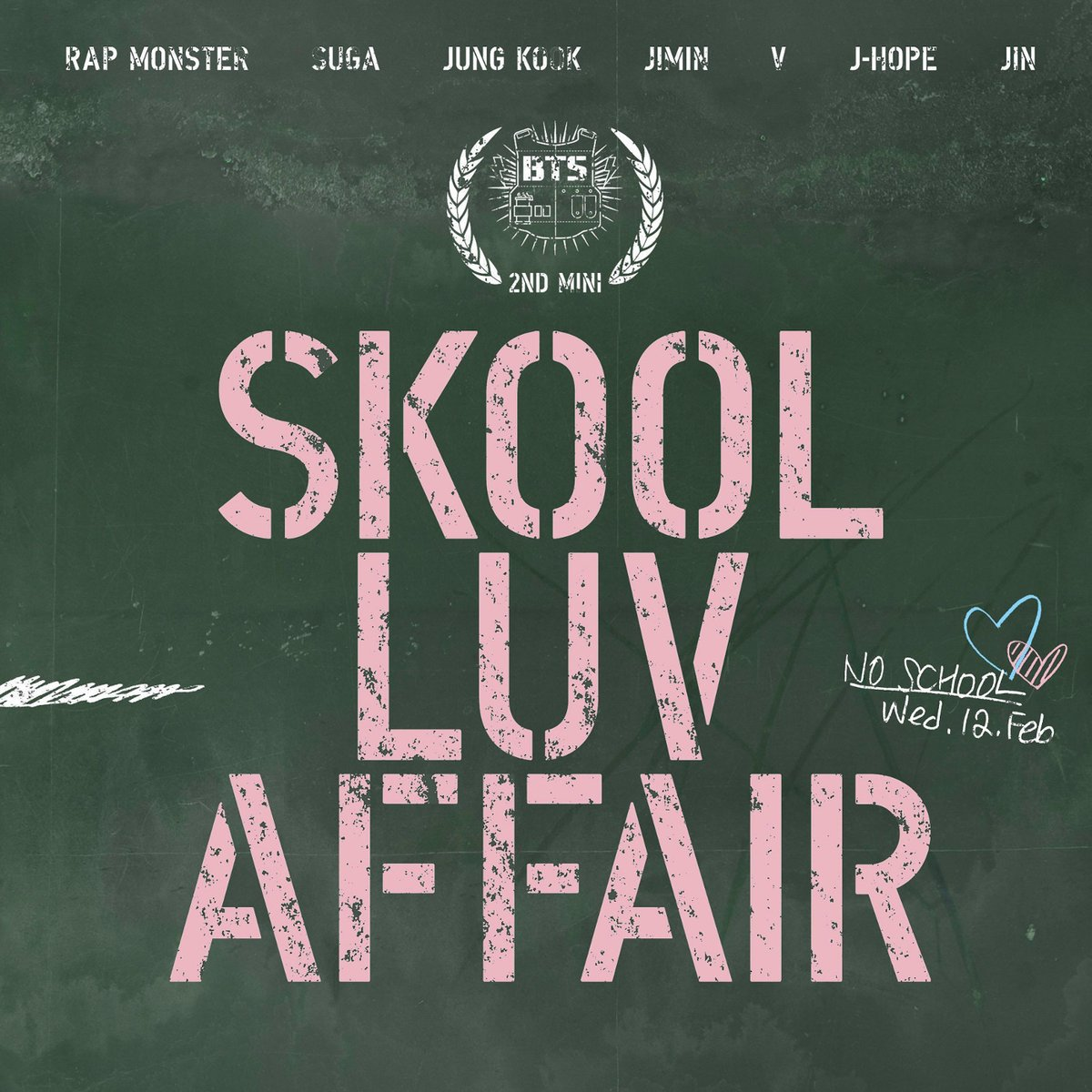 Skool Luv Affair - 1. Intro: Skool Luv Affair2. 상남자 (Boy In Luv)3. Skit: Soulmate4. 어디에서 왔는지 (Where Did You Come From?)5. 하루만 (Just One Day)6. Tomorrow7. BTS Cypher Pt. 2: Triptych8. 등골브레이커 (Spine Breaker)9. Jump10. Outro: ProposeSpecial Edition:11. Miss Right12. 좋아요 (I Like It: Slow Jam Remix)