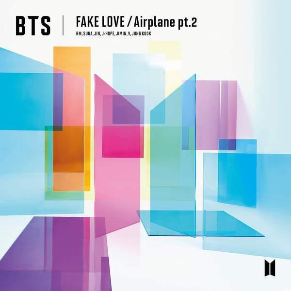 FAKE LOVE / Airplane pt.2 - 1. FAKE LOVE (Japanese Ver.)2. Airplane pt.2 (Japanese Ver.)3. IDOL (Stadium Remix)4. FAKE LOVE (Japanese Ver. - Remix)