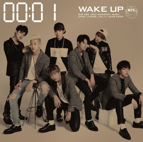 WAKE UP - 1.INTRO2.THE STARS3.JUMP (Japanese Ver.)4.Danger (Japanese Ver.)5.BOY IN LUV (Japanese Ver.)6.Just One Day -Japanese Ver. Extended-7.いいね! (I Like It!) - Japanese Ver.-8.I Like It Pt.2 ~In That Place~ (いいね!Pt.2~あの場所で~
