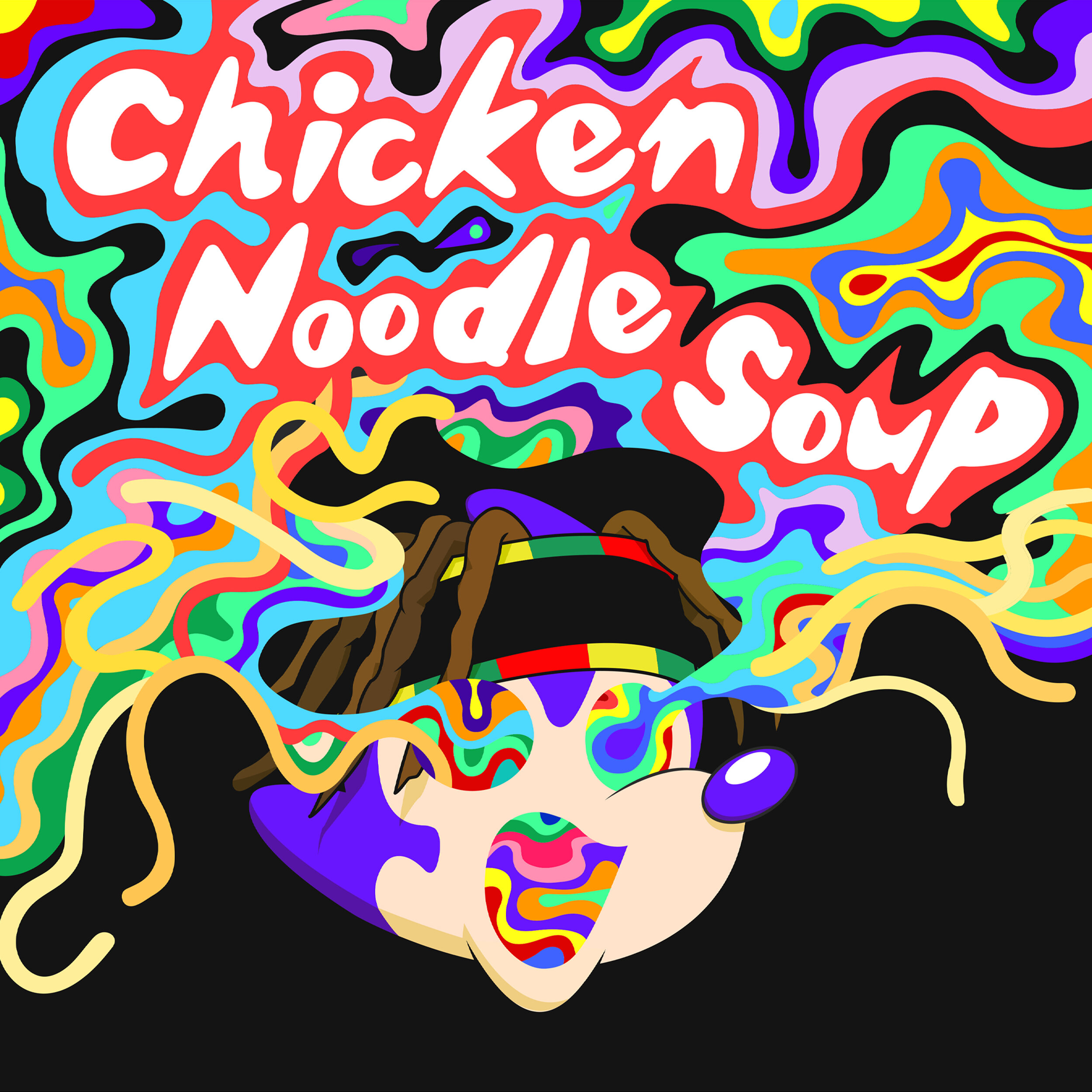 Chicken Noodle Soup (feat. Becky G) Cover.jpg