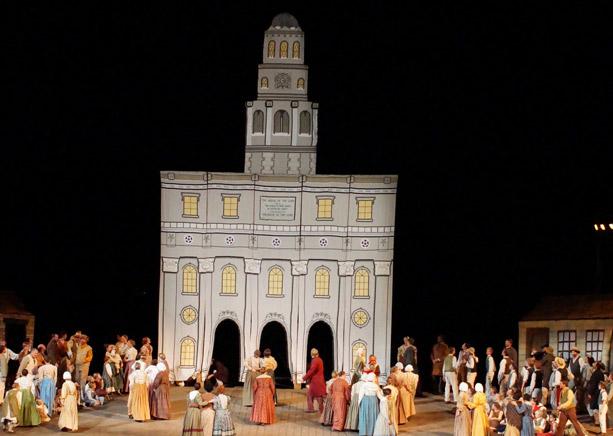 Nauvoo Pageant Cast & Crew Raise Temple