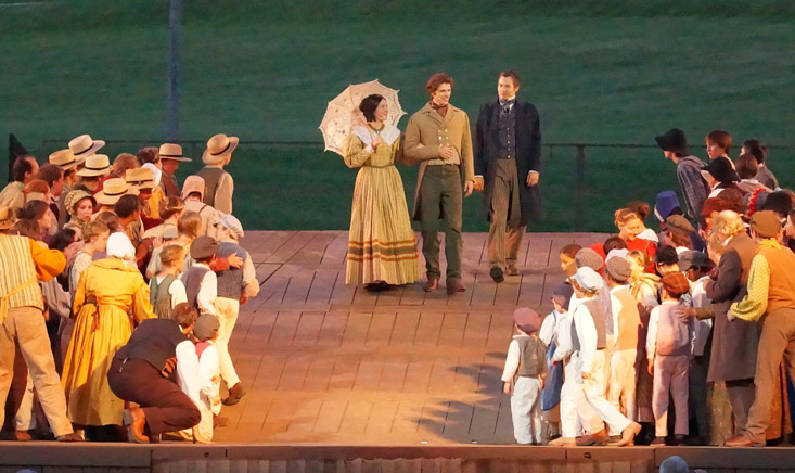 Nauvoo Pageant Cast & Crew Perform Joseph and Emma