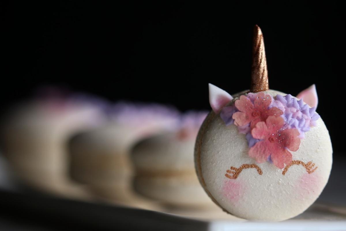 Handmade Art Macarons