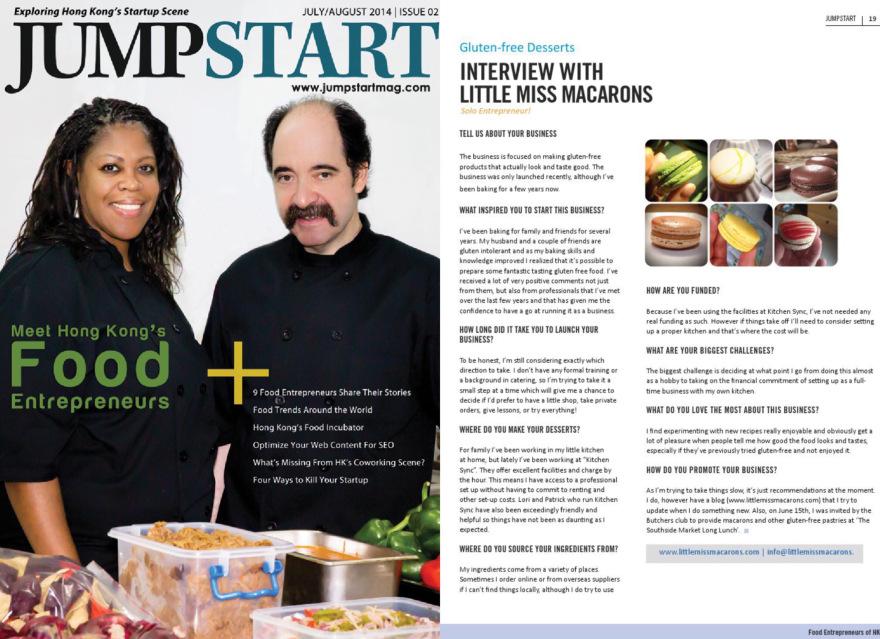 Jumpstart Magazine – Issue 2 – July/ August 2014