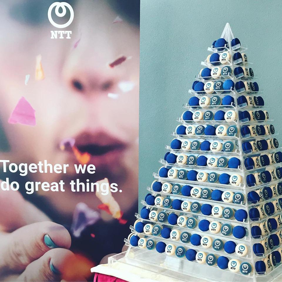 Large Macaron Pyramid