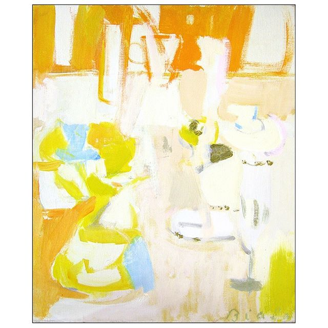 "A SUNDAY STILL LIFE.   ""Still Life,"" 1961, Oil on canvas, 18 x 15 in. (48.3 x 40.6 cm) Collection of the Estate of Janice Biala, New York   ""The world Biala paints is largely gone. So are most of the people who shaped it. What survives to remember them are its fragile artifacts and disappearing rituals."" —Michael Brenson, 1996   #janicebiala #painterbiala #michaelbrenson #stilllife #americaninparis #schoolofparis #abstractexpressionism"
