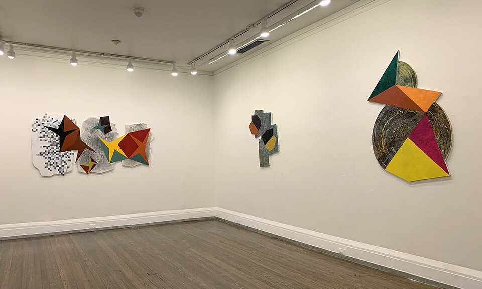 Installation view: Hermine Ford at New York Studio School