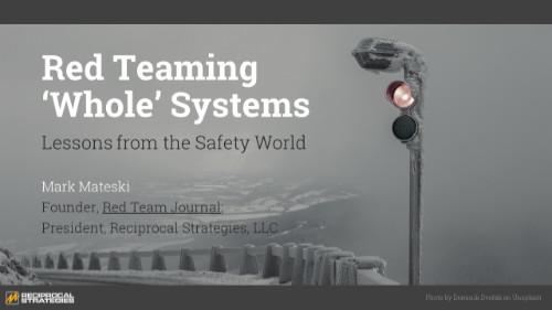 Whole Systems Presentation Title Slide