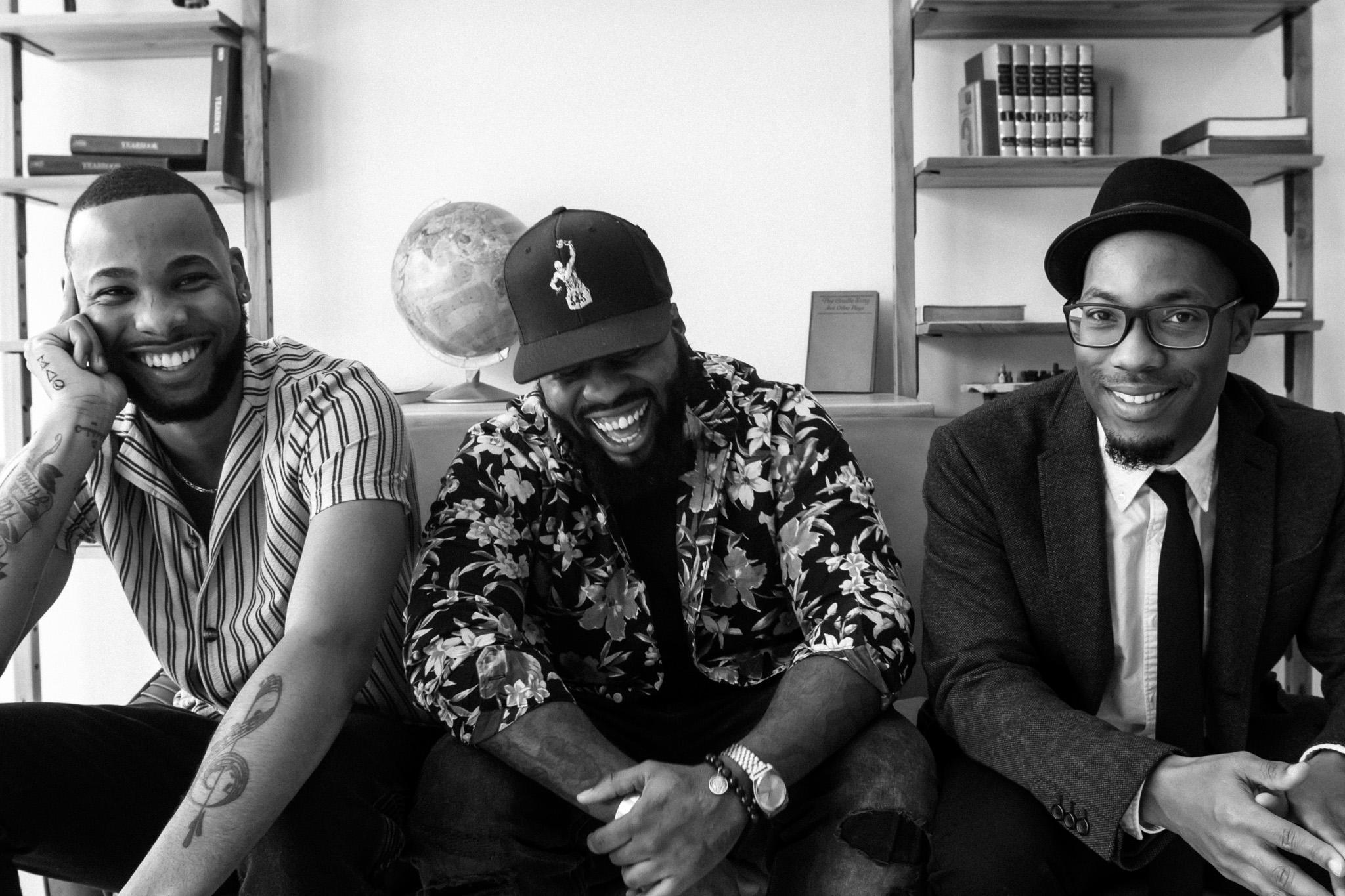 From left to right: Justin Swiney, BD3 & FKAjazz