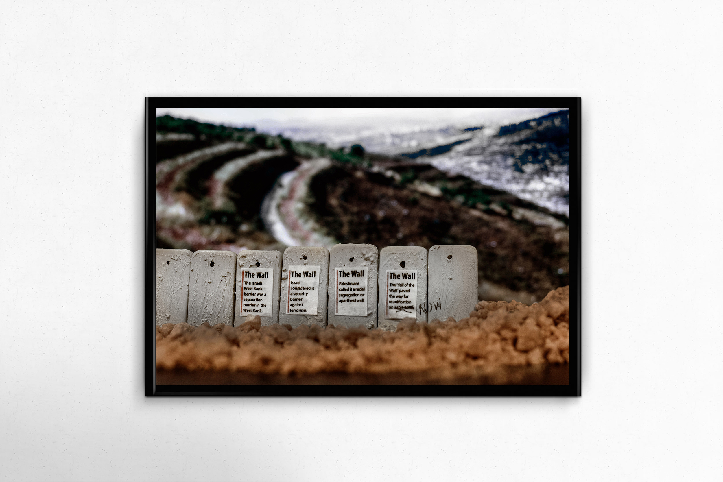 $150 donation - Crushing Walls Photo Print - No. 8 - End of the Wall14x11, unframed