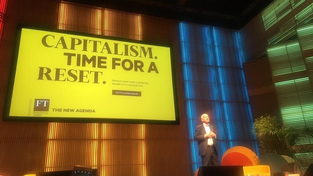 - John Elkington speaking at the B Corp Summit